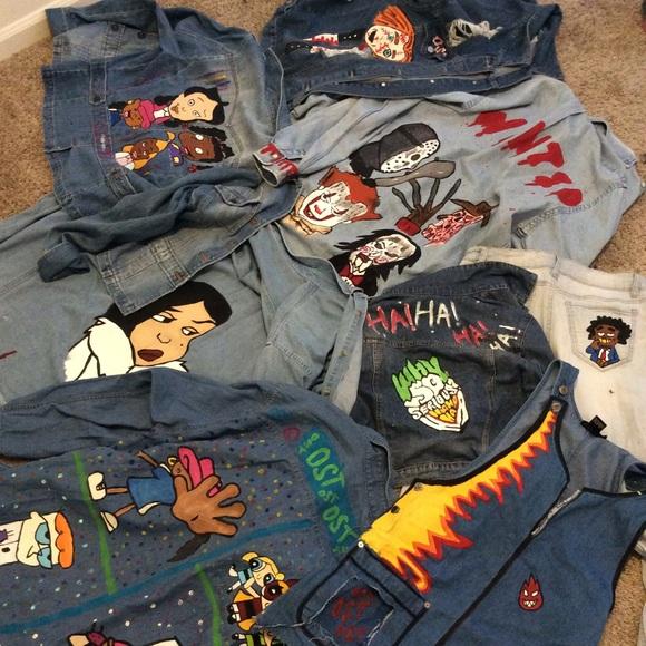 b868bc96b0b8ff Ralph Lauren Jackets & Coats | Custom Jean Jackets | Poshmark